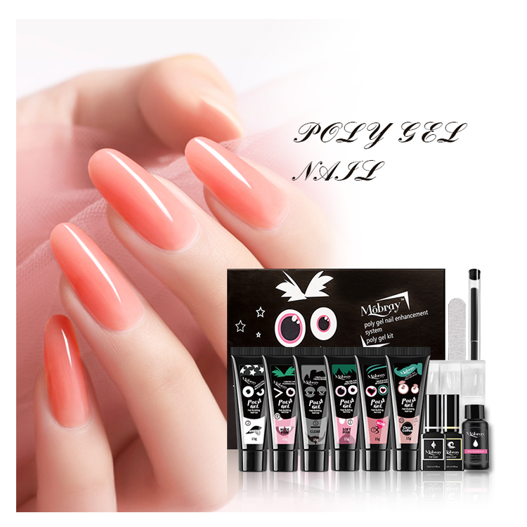 High Quality Unique 6 Different Colors 15 g Acrylic Nail