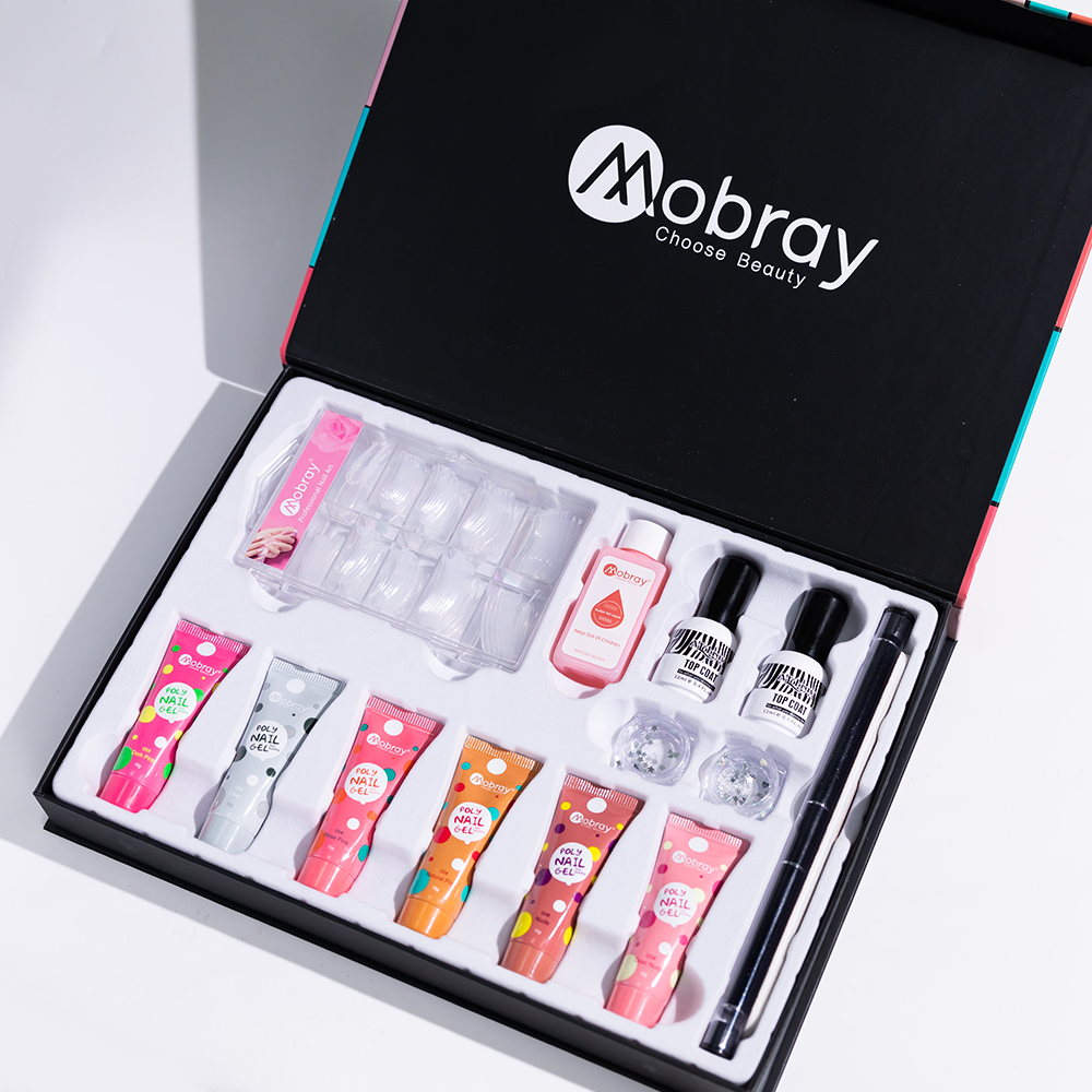 Factory Price Mobray 6 Different Colors 15 g Nail Paint