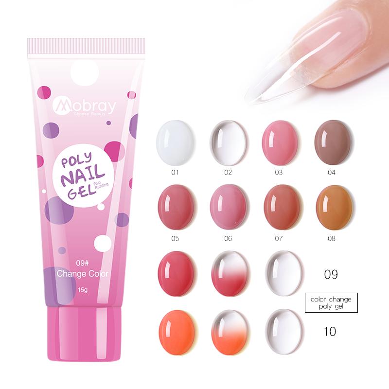 30ML Acrylic Extension Gel Quick Building Gel Polish Set